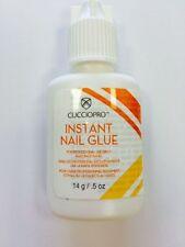 CUCCIO INSTANT NOZZLE NAIL TIP GLUE 14g gram  super strong false nail