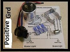 6 volt 535 thermal flasher Positive Ground w/bracket, bulb, plug, instructions