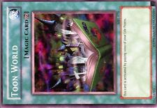 Ω YUGIOH CARTE NEUVE Ω SUPER RARE N° MRL-076 TOON WORLD