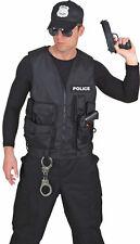 Police Polizeiweste für Herren NEU - Zubehör Accessoire Karneval Fasching