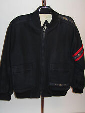 WOOL MARINA YACHTING JACKET! NAUTICAL DESIGN! QUILTED LINING! MADE IN ITALY! 40