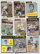 1970 TOPPS SIGNED CARD HECTOR TORRES ASTROS CUBS EXPOS PADRES JAYS MEXICO # 272