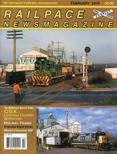 Railpace NewsMagazine February 2010 Vol 29 No 2 Lansdale Cluster Operations