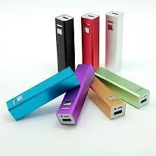 Power Bank 2600mAh For iPhone Samsung Nokia Sony HTC LG Cellphone Phablet(Violet