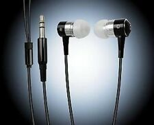EARPHONES EARBUDS FOR iPOD MP3 MP4 IN BLACK **NEW**