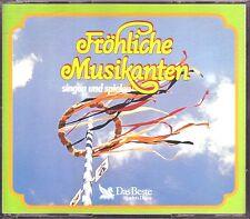 Fröhliche Musikanten singen und spielen  -  Reader's Digest   5 CDs