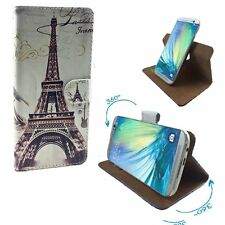 Mobile Phone Book Cover Wallet Case For Mobistel Cynus F4 - Paris 1 S