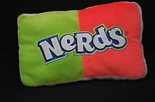 "Nerds Pillow Plush Green Blue Orange Nestle Candy Good Stuff Toy 11"" X 6.5"""