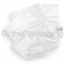 """20 x Resealable SANDWICH FOOD Poly Bags 7.5""""x7.5"""" GL10"""