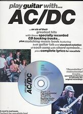 AC/DC 6 Greatest Hits Tracks Guitar Tab  US  Song Book With Play Along CD