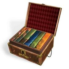 Harry Potter Book Collection (TRUNK BOX) Hardback Books 1-7 Complete Magic Case