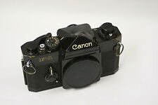 Canon F-1 with eye level prism and micro prism focus screen. 1st generation