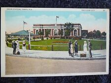 1920's The Union Railroad Station in Tampa, FL Florida PC