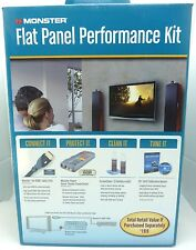 Monster Cable flat panel performance kit HDMI, Power Center, ISF Calibration Dis