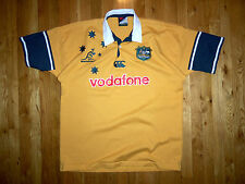 CANTERBURY OF NEW ZEALAND AUTHENTIC VINTAGE AUSTRALIAN WALLABEES JERSEY 2XL