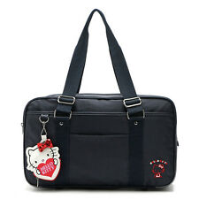 HelloKitty  Black Zipper  Handbag Tote Shoulder Bag 2017  New Nylon