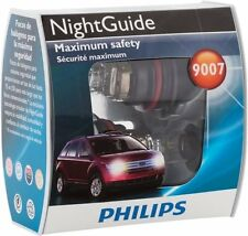 Philips 9007 Night Guide Tri-Color Beam Pack of 2 lamps Part 9007NG S2