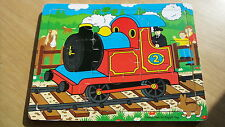 THOMAS THE TANK ENGINE WOODEN JIGSAW From Official Thomas Shop 9 Pieces Age 0-2