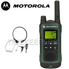 10Km Motorola TLKR T81 Hunter IPX4 Rugged 2 Way Radio Pack With Throat Mic