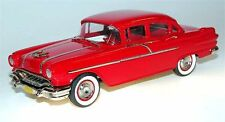 Brooklin BRK 137a, 1956 Pontiac Chieftain 870 4-Door Sedan, red 1/43