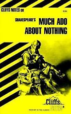 CliffsNotes on Shakespeare's Much Ado About Nothing 1984 Paperback USA
