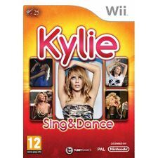 Kylie Sing and Dance Game Wii Brand New