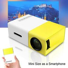 Mini Pocket Game LED LCD Projector Home Cinema Theater for Phone Tablet PC UK BG