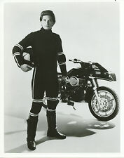 Rex Smith on Motorcycle Street Hawk 8x10 photo B7092