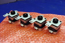 FOUR NEW PRECISION HYBRID 1.8 DEG., 4.9V STEPPERS FROM MINEBEA - MODEL 17PM-K312