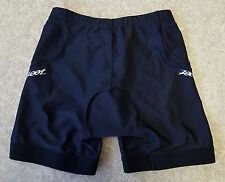Zoot Tri Compression Shorts Cycling Black Womens Size Large Padded Pockets