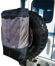 4WD Rear Back Door Spare Wheel Cover Storage Bag 4x4 Patrol Prado Landcruiser