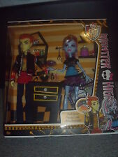 BNIB Monster High - Double the Recipe- Heath Burns & Abbey Bominable -2 Doll Set