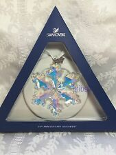 Swarovski 25TH ANNIVERSARY ORNAMENT CHRISTMAS L.E. 2016 STAR X-MAS 5258537