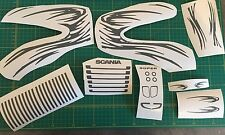 TAMIYA SCANIA 14/1 TRUCK STRIPE Decalcomania Set * tutti i colori *