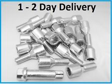 10 ALLOY WHEEL TUNER KEY LONGER SPACER BOLTS M12 x 1.25 PEUGEOT FIAT ALFA 36mm