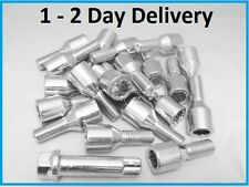 8 * ALLOY WHEEL TUNER KEY LONGER SPACER BOLTS M12 x 1.25 PEUGEOT FIAT ALFA 36mm