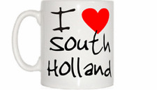 I Love Heart South Holland Mug