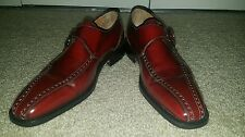 BOTTICELLI  VTG. CLASSIC ITALIAN LEATHER GOTHIC STEAMPUNK *RARE* SHOES SZ 38.5
