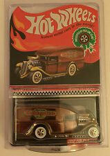 Hot Wheels 2012 Red Line Club Holiday Car - Red Blown Delivery - LOW #'d 66/5000