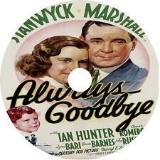 Always Goodbye DVD Barbara Stanwyck Herbert Marshall Ian Hunter 1938