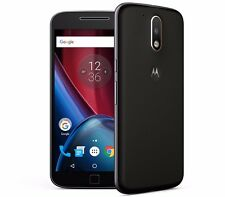 "Motorola Moto G4 Plus Dual Sim XT1642 Black (FACTORY UNLOCKED)  5.5"" 32GB 16MP"