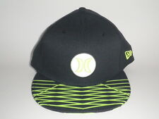 Hurley New Era 9Forty OPEN FUSE Hat Lime Black OSFA ($32) Snapback Nike Dri-Fit