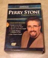 Perry Stone Prophecy Collection 5 DVD Set in cases w/ outer box