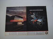 advertising Pubblicità 1990 ALFA ROMEO 33 BOXER 16V