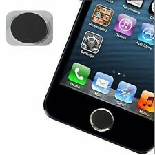 NEW Replacement Black & Silver Aluminium Home Button 5S Style for iPhone 5