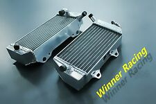 Winner BRACED right+left alloy radiator for Honda CRF450R CRF 450 R 2005-2008