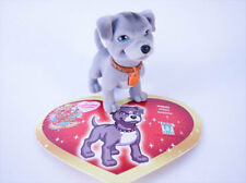 GORT ou TRUDY le Pitbull + sa carte - Figurine Puppy  in my Pocket