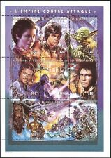 Mali 1997 Star Wars/Cinema/Films/Movies/Cinema/Space/Robots 9v sht (n41990)