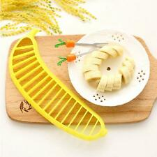 Practical Kitchen Tool Salad Fruit Peeler Cutter Chopper Banana Slicer