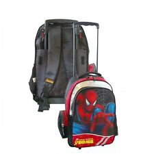 Trolley Rucksack Koffer Schule & Freizeit & Reisen * Kinder Tasche * Spiderman